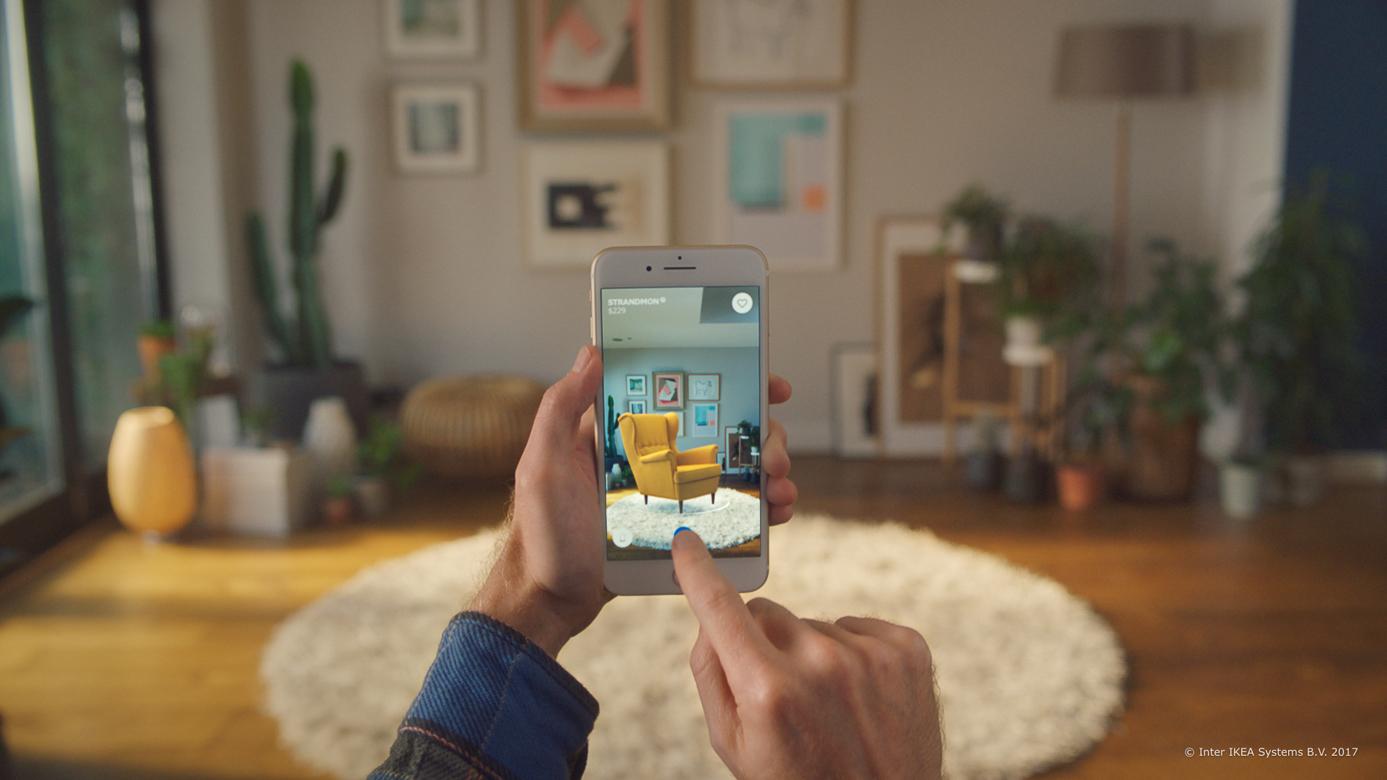 Ikea-Place-AR-Realidad Aumentada